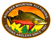 a photo of the Boulder Mountain Guide logo