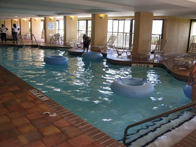 Holiday Inn at the Pavilion indoor heated pool