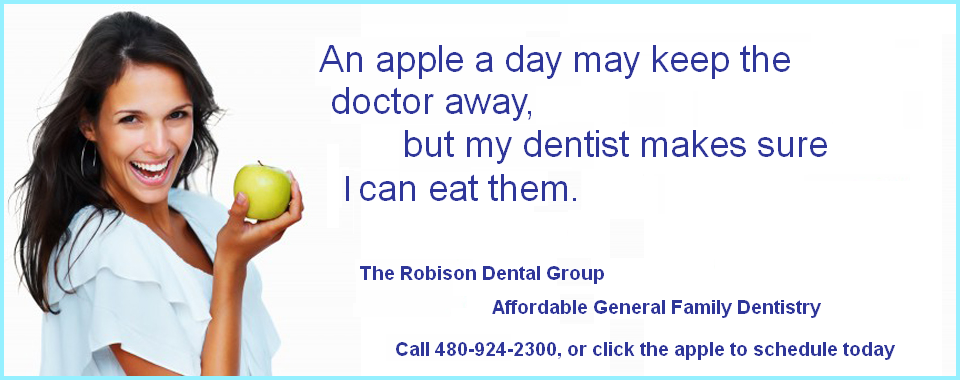 mesa az dentist Robison Dental Group