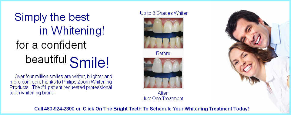 Teeth Whitening Specials in  Mesa AZ