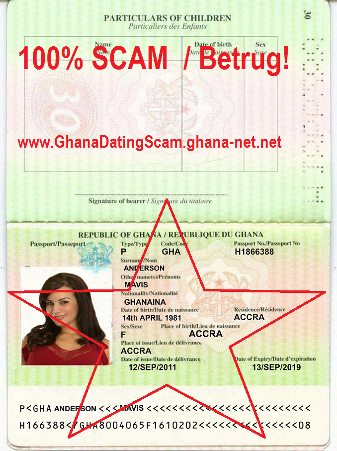 Nigeria online dating scams