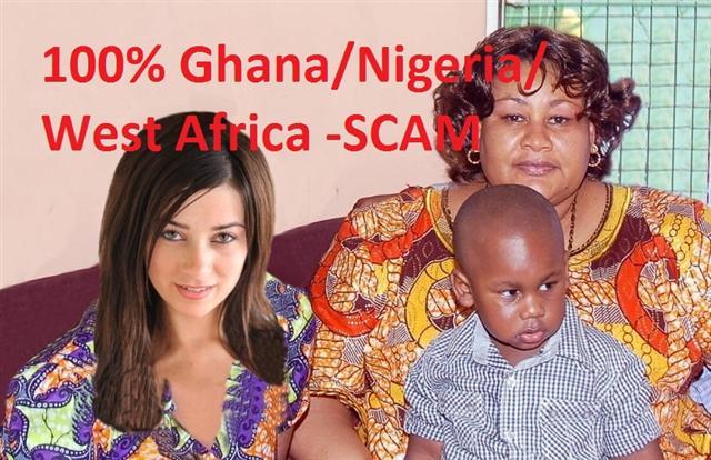 Ghana-Nigerian Fake - Scam