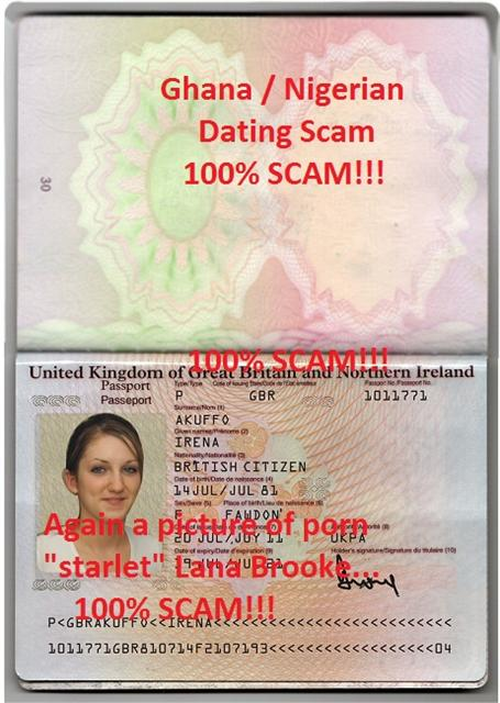 Dating overseas scams