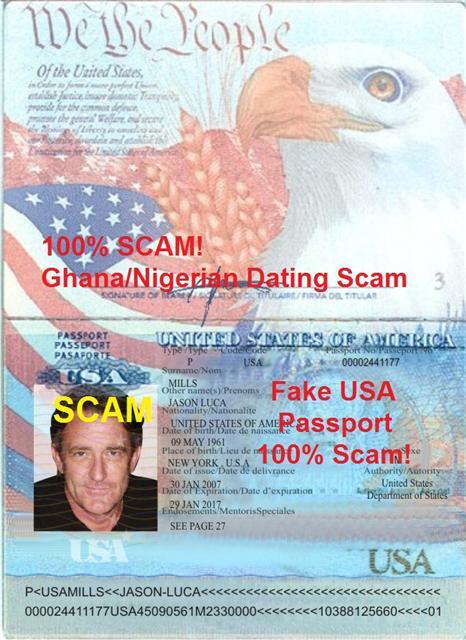 IGhana - US Scam