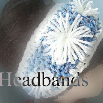 crochet patterns headbands, scarves, easy, beginner, crocheted, ashton11, 3 crochet chicks, hectanooga