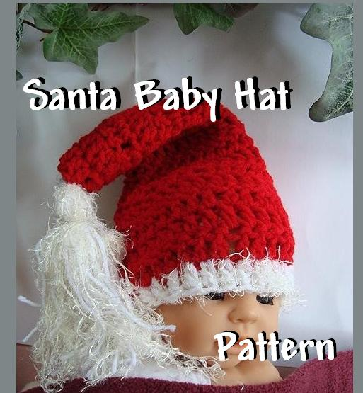 Crochet Pattern For Santa Hat For Baby : Easy Crochet Santa Hat Pattern LONG HAIRSTYLES