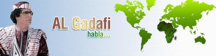 Al Gaddafi speaks Espanol