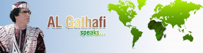 AlGaddafi speaks!