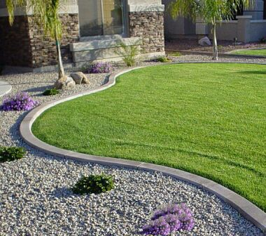Curb Shapes Color moreover A Low Maintenance Front Garden further 35th Wedding Anniversary Themes besides Watch additionally Pool Houses. on small garden ideas and designs