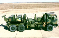Military wrecker prototype prior to testing at Aberdeen proving grounds.