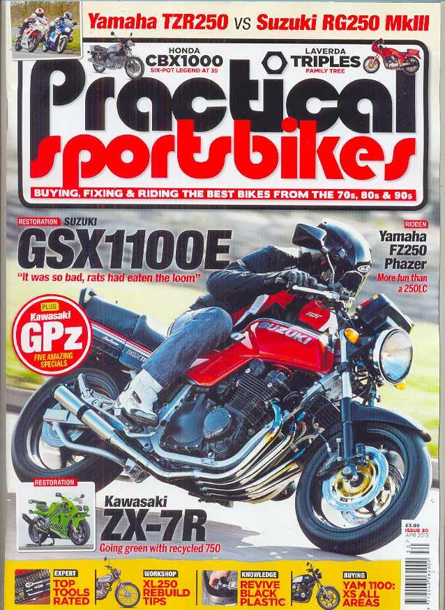 practical sportsbike magazine