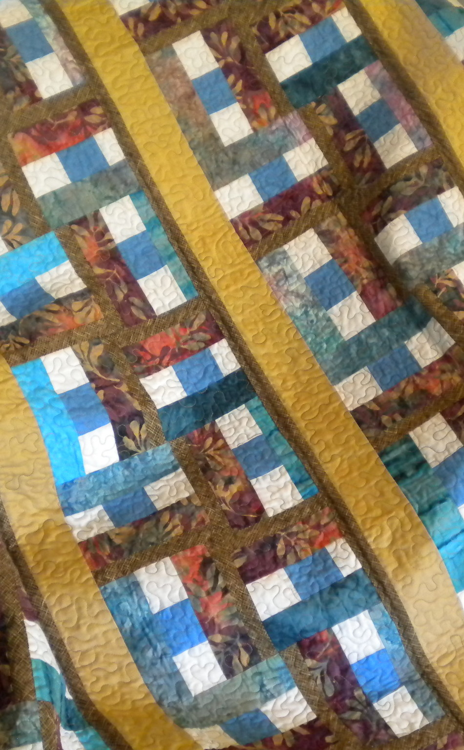 Handcrafted in America, one-of-a-kind, quilts and quilting