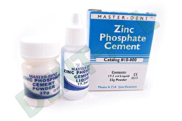 Cemento Fosfato de Zinc Master-Dent de Dentonics