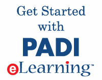 Sign up for PADI Elearning!