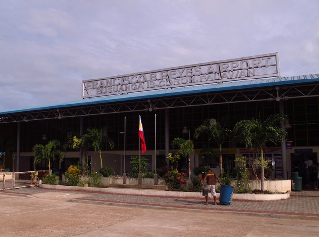 The local airport in Coron, Palawan, Philippines.