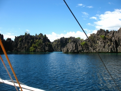 The beautiful Coron Island in Coron, Palawan, Philippines