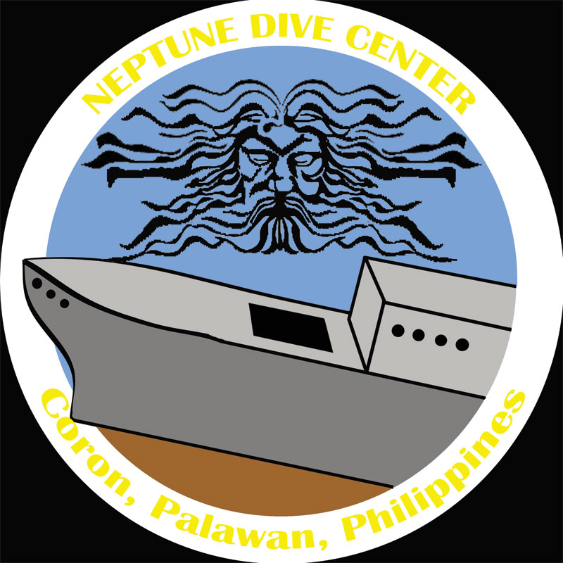 Neptune Dive Center, the place for wreck diving in Coron, Palawan, Philippines
