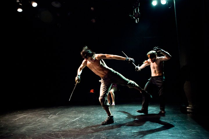 Still from the NYU Production of FIGHTER