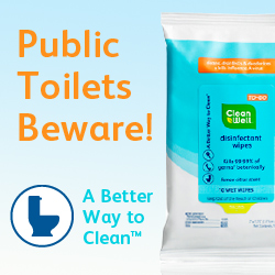 clean well wipes