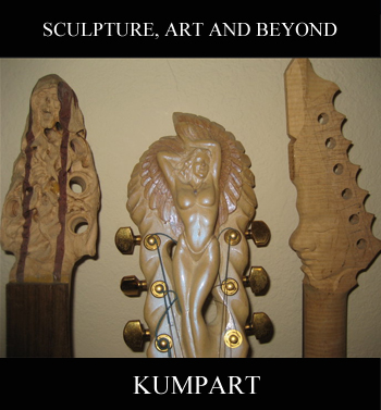 Hand Carved Guitars By Kumpa