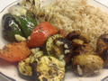 Vegeable Kabob Platter