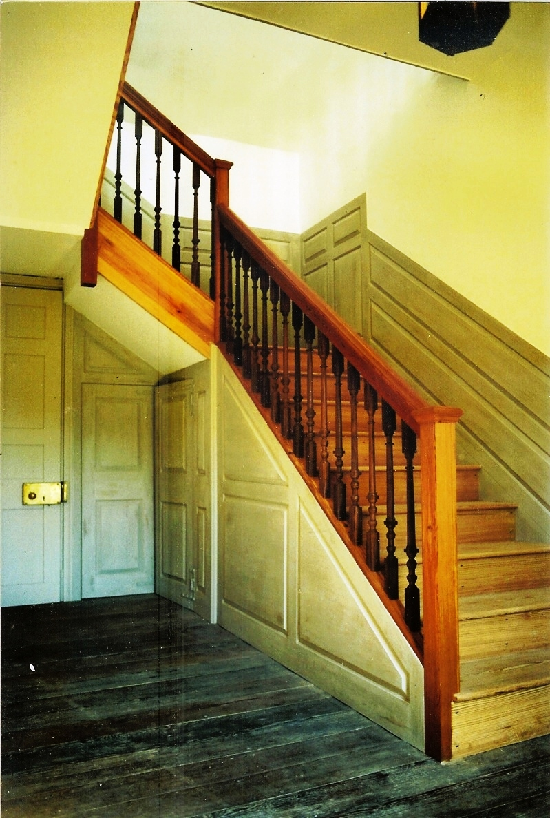 Duke Lawrence House Stairs
