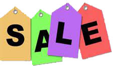 SALE OR SPECIAL PROMOTIONS