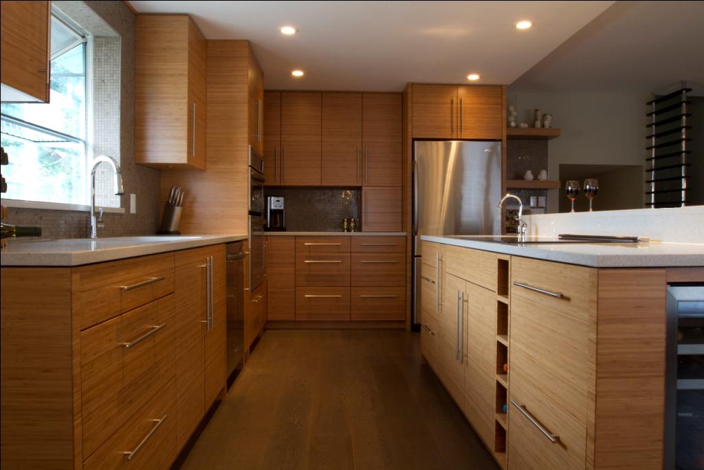 custom bamboo kitchen