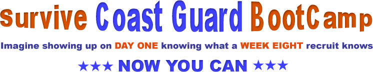 SurviveCoastGuardBootCamp Banner