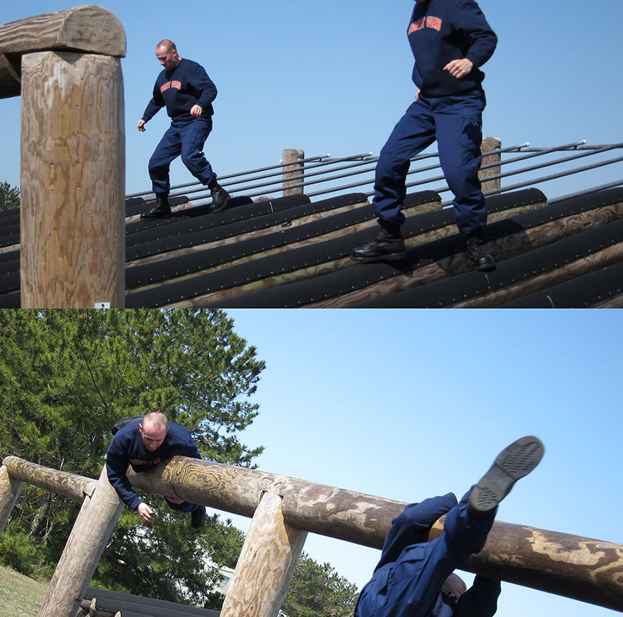 Coast Guard Boot Camp Obstacle Course