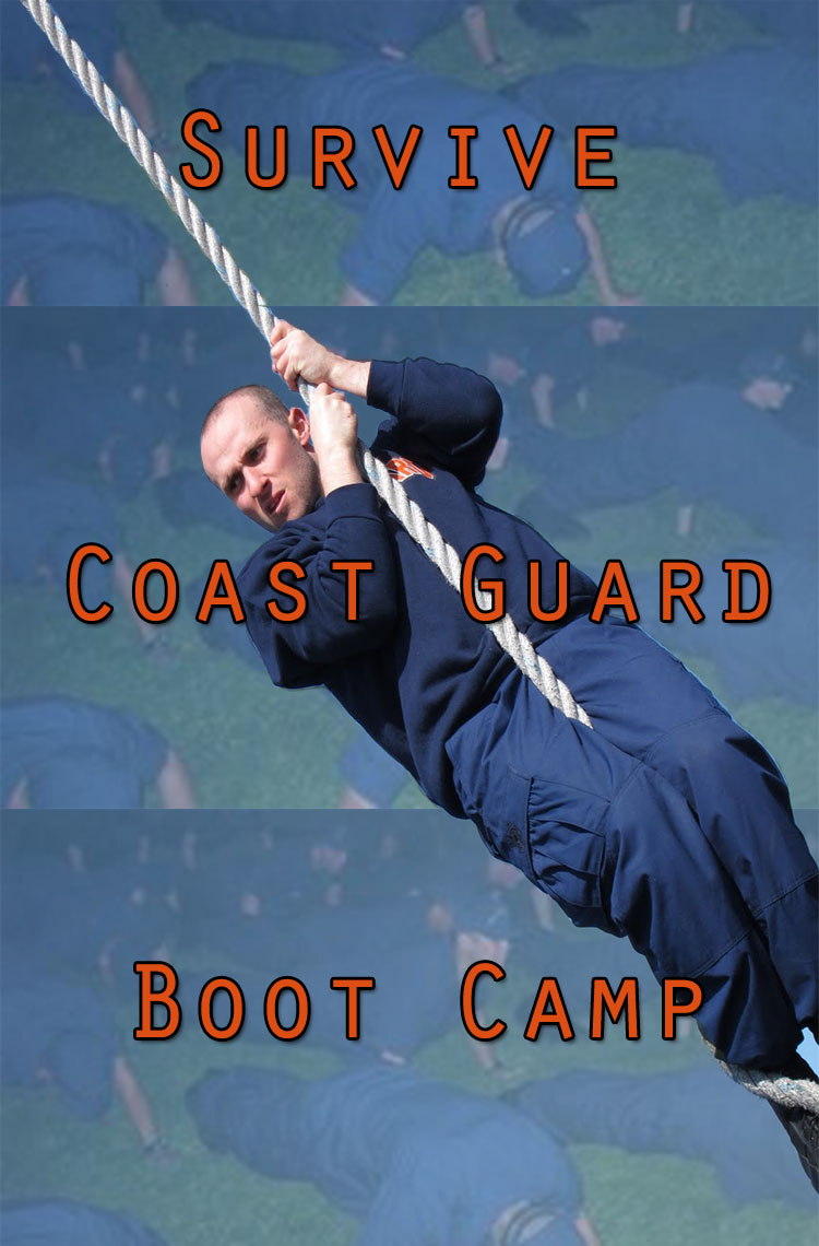 Martin On Confidence Course In USCG Boot Camp