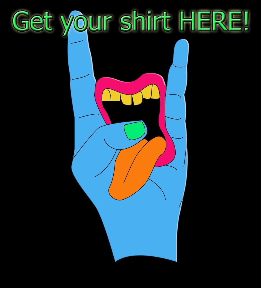 Get your Tongue Out Crew Shirt here