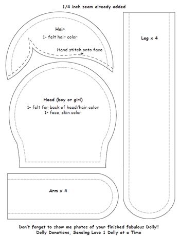 picture regarding Free Printable Doo Rag Patterns titled Dolls