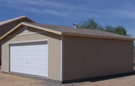 Installed Garages Servicing Phoenix Anthem Apache Junction Avondale Buckeye Carefree & Alternative Portable Buildings: Storage Sheds Custom Garages and ...