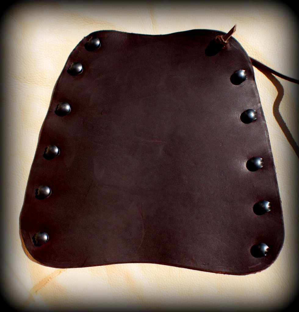 Leather Armguard - Large