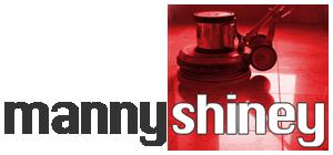 MannyShiney logo