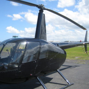 helicopter for aerial photography