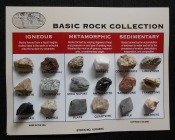 Basic Rock Collection Card