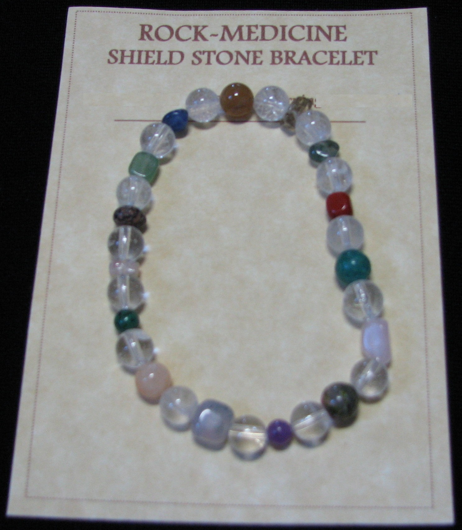 Shield Stone Bracelet