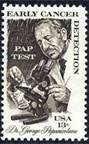 United States Cancer Detection Stamp