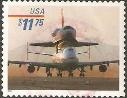 United States Space Shuttle Express Mail Stamp