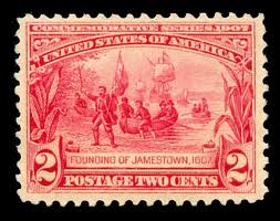 United States Founding of Jamestown Stamp