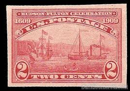United States Hudson-Fulton Stamp