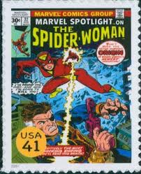United States Marvel Comics Stamp Sheet
