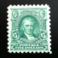 United States $5 Marshall