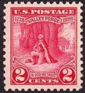 United States #645 Mint