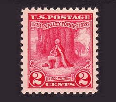 United States Valley Forge Stamp