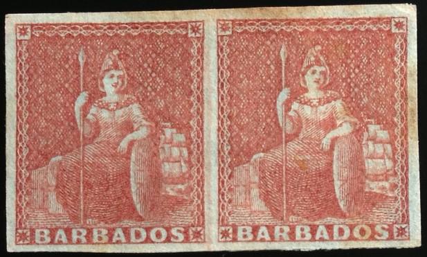 Barbados #4 pair