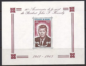 Dahomey JFK Sheet