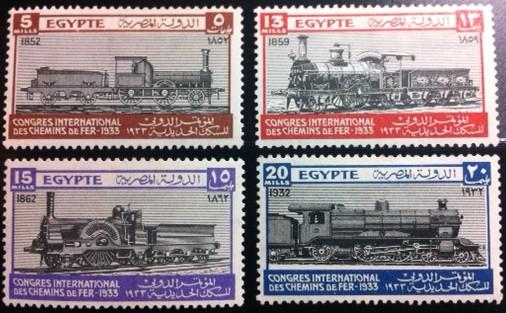 Egypt #168-71